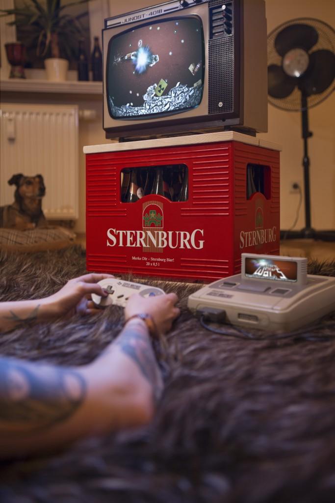 Nick Putzmann - Sternburg Bier - Kampagne 2014