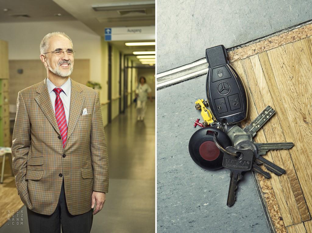 Nick Putzmann - Schlüsselfiguren - Wolfgang Fleig - Uniklinik Leipzig
