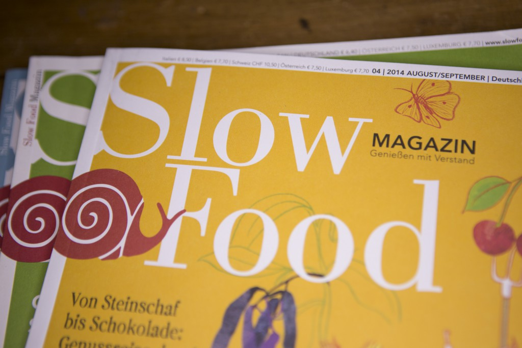 Slow­food Magazin